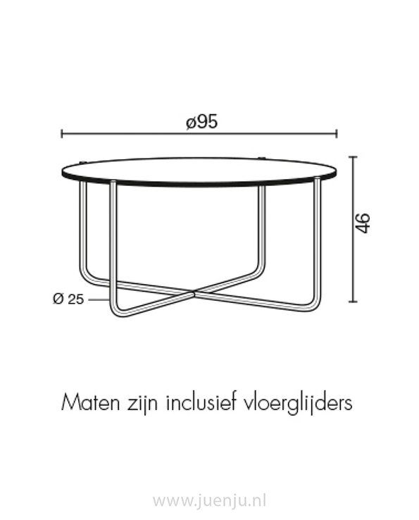 GT 417 salon tafel
